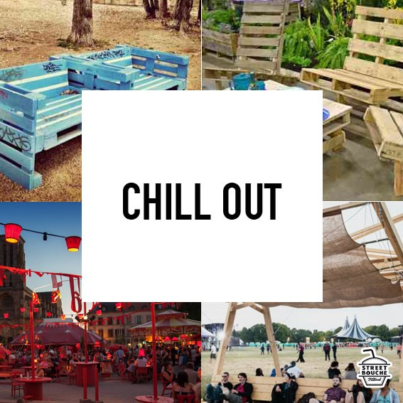Espace chill out - Streetbouche Festival