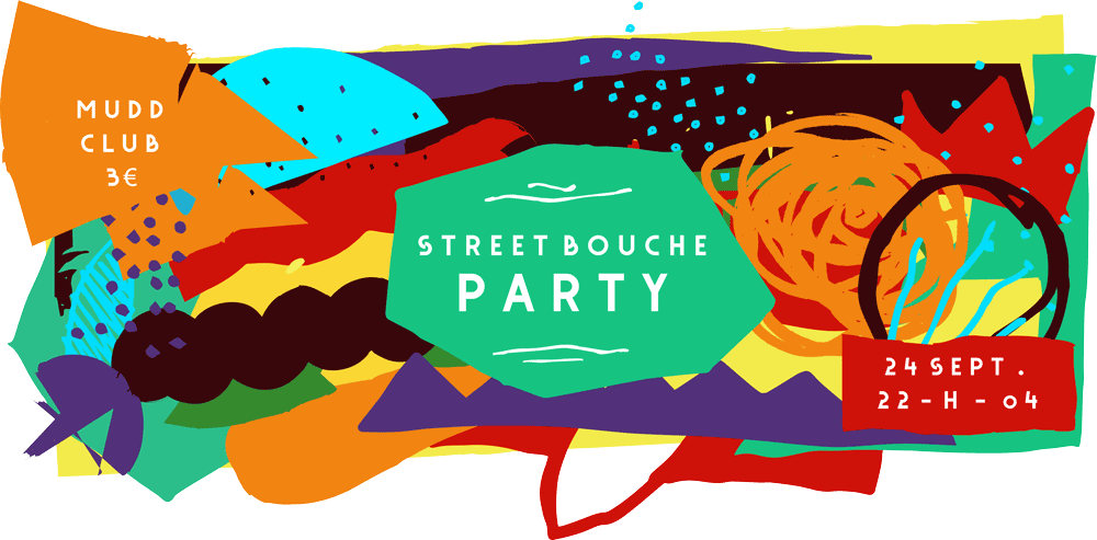 Street Bouche Party Mudd Club