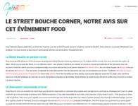 Presse Street Bouche Corner #1 GetEatOut 16 janvier 2017