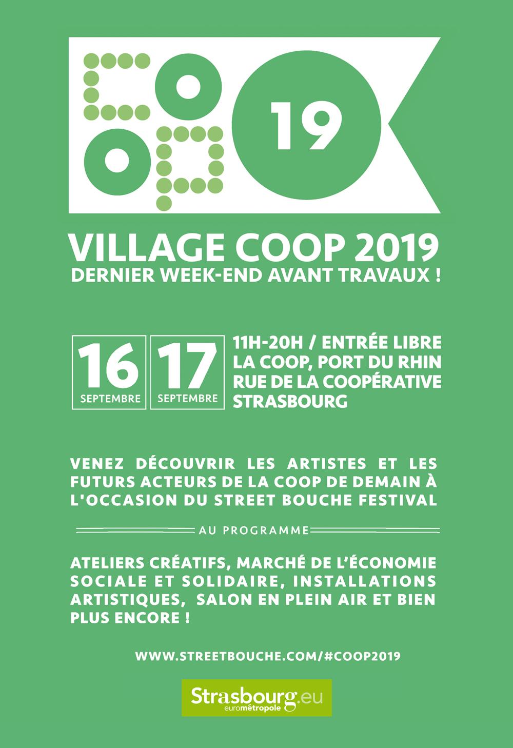 Village Coop 2019 Street Bouche Festival