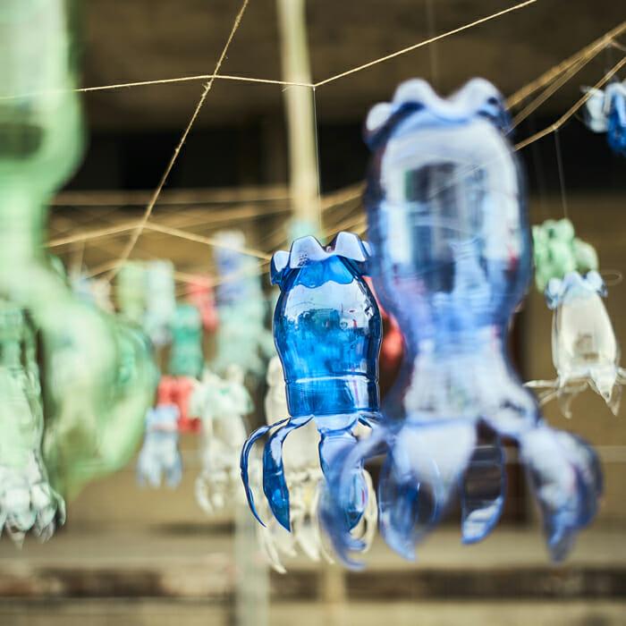 Street Bouche Festival #2 Installation Street Art
