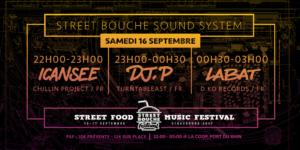 Street Bouche Sound System Coop Strasbourg 16 septembre 2017