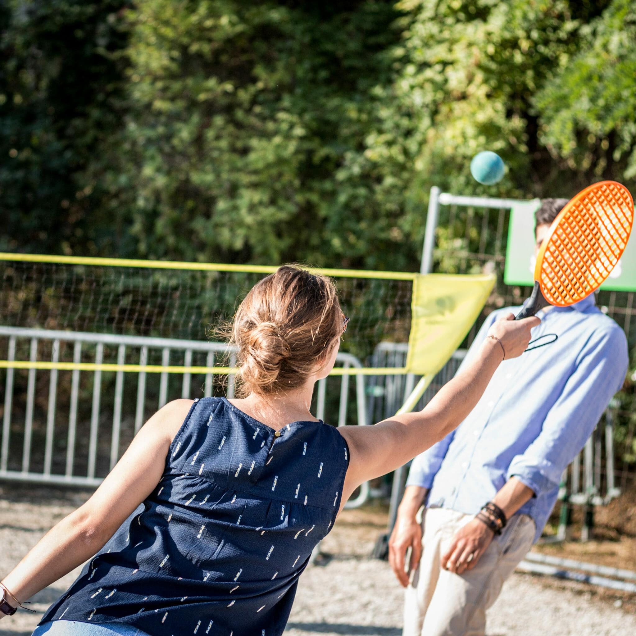 Street Bouche Festival #1 Jeu de raquette