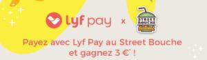bandeau Lyf Pay Street Bouche