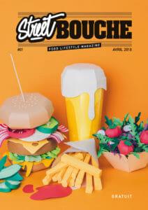 cover magazine street bouche magazine 01 Food Lifestyle