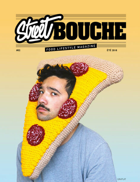 Street Bouche Magazine 2 ete 2018 Cover - Street Bouche