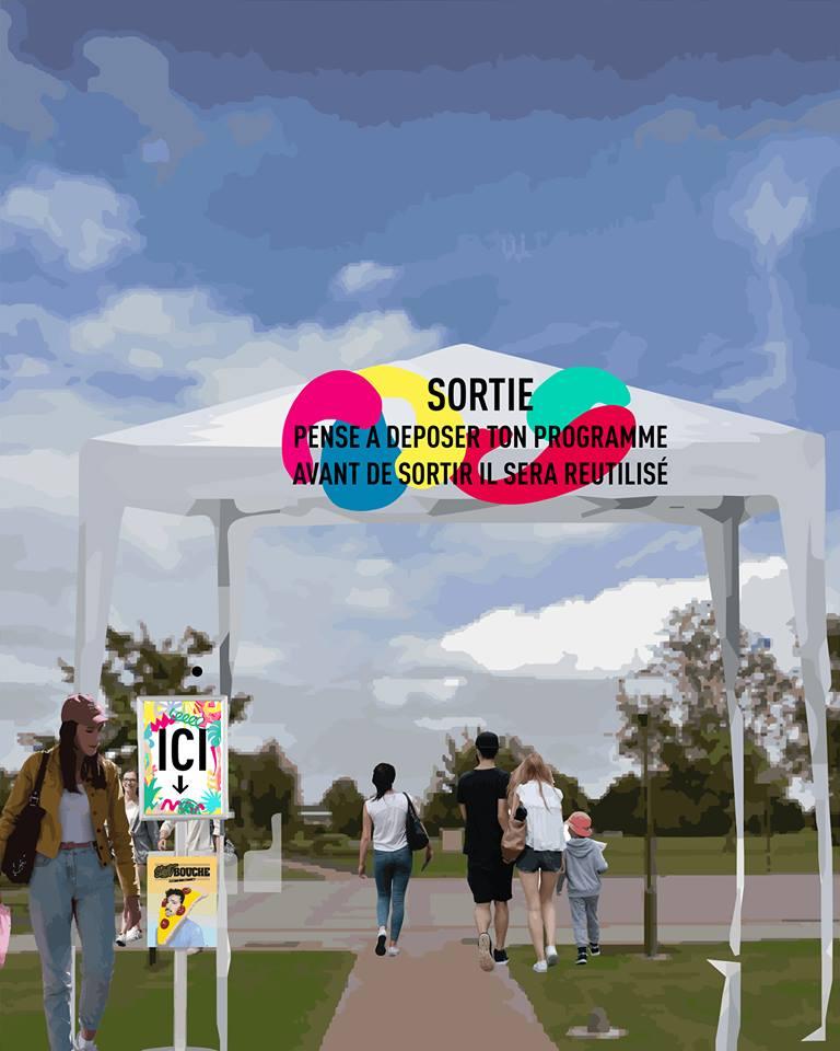 Bonne pratique ecolo 5 programme papier recycle street bouche festival 3 - Festival #3 - 2018
