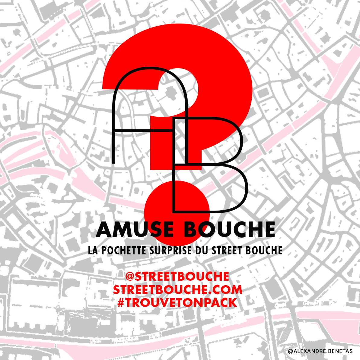 Sticker Amuse Bouche street bouche festival septembre 2018 - Où est mon Amuse Bouche ?