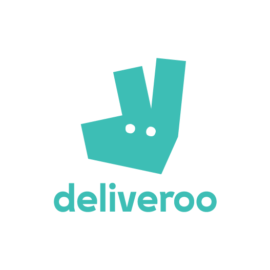 Deliveroo logo street bouche - Street Bouche