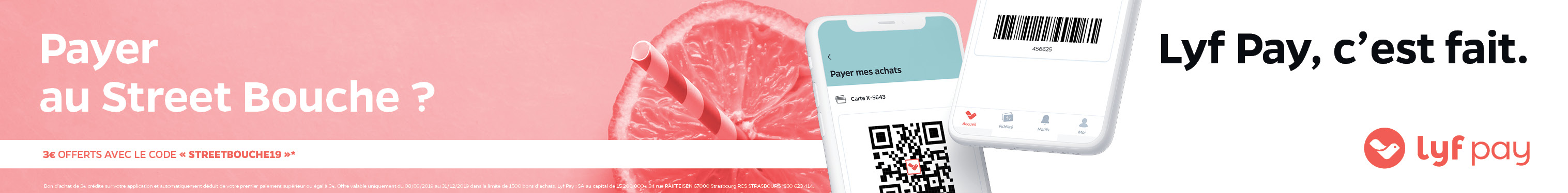Lyf Pay partenaire Street Bouche