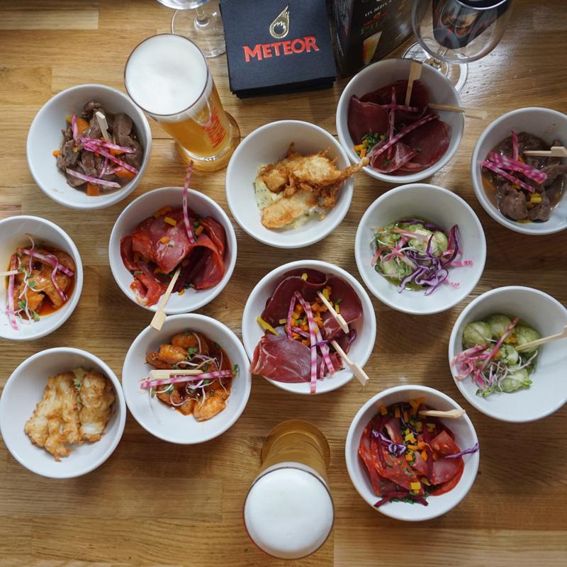 Accord mets et biere par la Brasserie Alsacienne Independante et Familiale Meteor