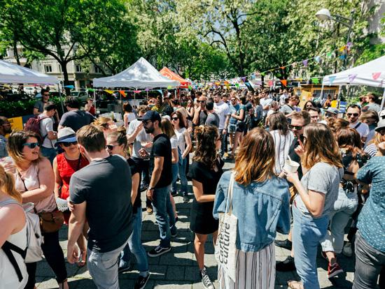Street Bouche corner Street Bouche food camp - Festival #4 - 2019
