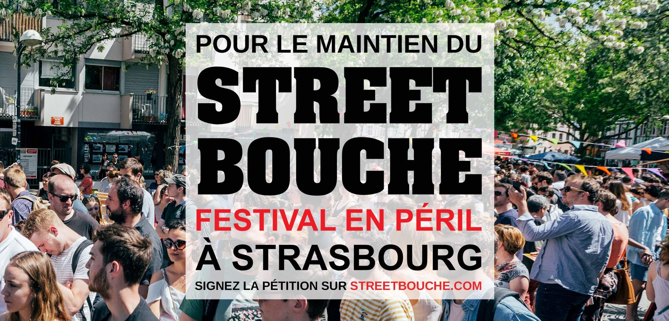 street bouche petition maintien festival - Street Bouche